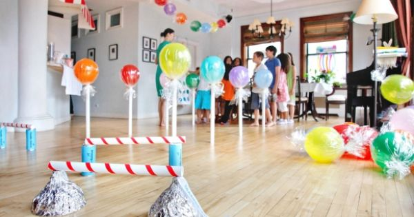 Fantastic ideas for a kids' Candy Shop Party