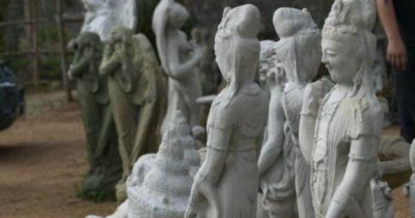 How To Make Lightweight Fiber Cement Ehow Cement Statues Cement Art Fiber Cement