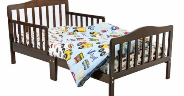 Dream On Me Classic Toddler Bed Espresso Furniturendecor Com Toddler Bed Convertible Toddler Bed Kid Beds