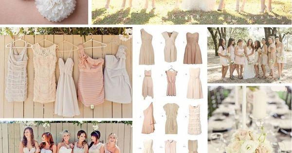wedding colors blush | Blush + Neutral Color Scheme - Wedding |