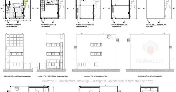 Le corbusier maison guiette 1926 anvers belgio for Le plan d une maison