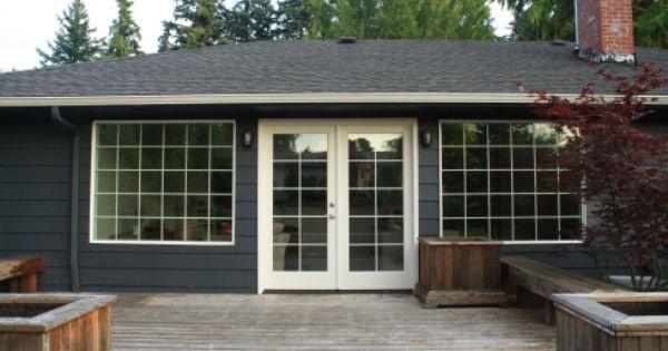 Bm Deep Space Modern Farmhouse Exterior House Paint Exterior