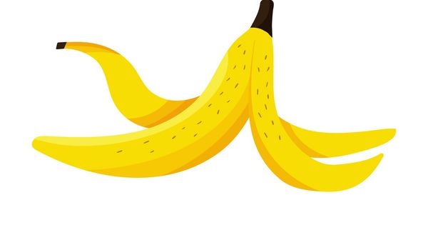 Banana Peel Vector Free Vector Art Vector Shapes Free Vector Graphics