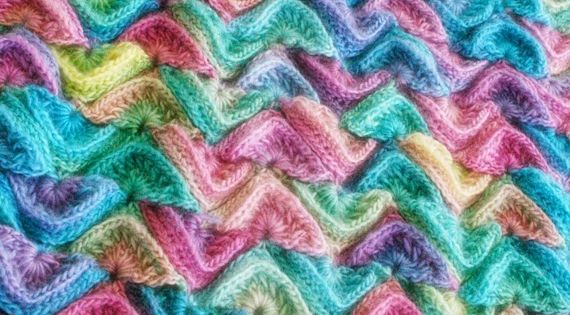Sea Song Blanket Crochet Pattern By Felted Button One Of