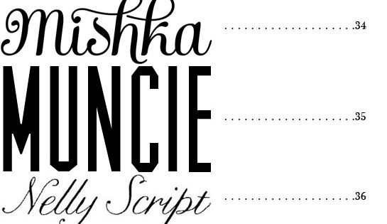 50 fonts. Best fonts for wedding invitations (not all free).