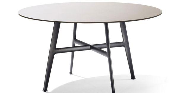 Dedon Seax Esstisch Rund Seax Outdoor Loungemobel Esstisch Gartenmobel Tisch