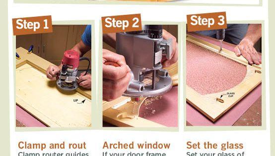 kuchenschranke diy : Convert Wood Cabinet Doors to Glass Glasscheiben, Brillen und ...