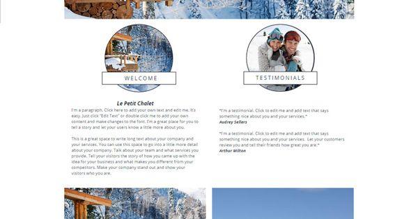 ski chalet website template wix website templates pinterest website template book boxes. Black Bedroom Furniture Sets. Home Design Ideas
