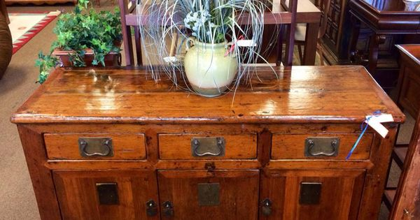 Repurposed wood console   Furniture Buy Consignment   Pinterest ...