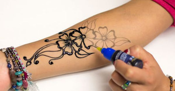 Henna designs the fun and easy way with stencils henna for Jagua tattoo amazon
