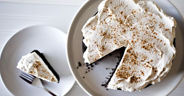 Mexican Chocolate Cake with Cinnamon Mascarpone Frosting Recipe