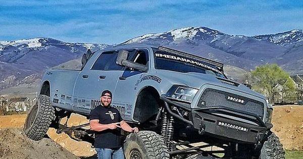 Mega Ram Runner Big Bad Dodge 3500 6 Door Diesel Ram