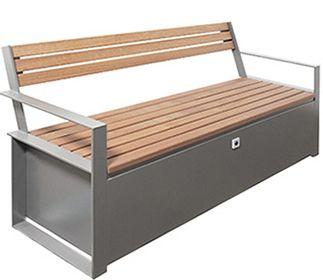 The Parcel Box Bench Combination Created By The World S Leading Intelligent Parcel Delivery Box Manufacturer Paketbriefkasten Paketkasten Briefkastenanlage