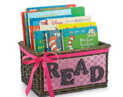 I'd love book gift basket :)