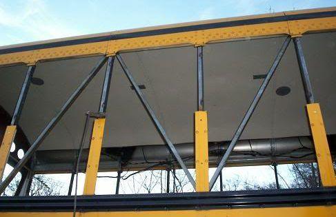 Skoolie Roof Deck