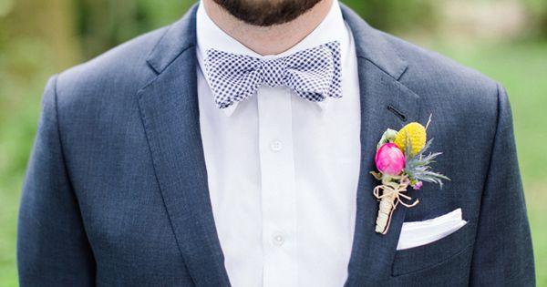 Wedding tie - photo