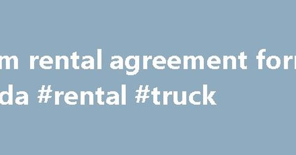 Room rental agreement form florida #rental #truck http\/\/rental - auto rental and lease form