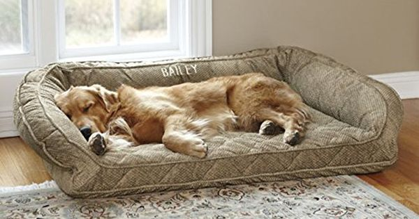 Orvis Deep Dish Dog Bed With Memory Foam Only Large Dogs Up To 6090 Lbs Brown Tweed Visit The Image Link More Details Note Amazon Af Cool Dog Beds Dog Bed