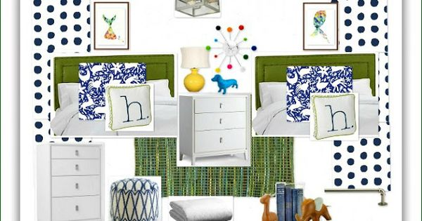 Abby m interiors a coed bedroom the design plan for Coed bedroom ideas