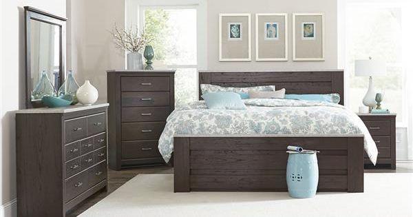Standard Furniture Stonehill Brown 2pc Bedroom Set With King Mansion Bed Brown Furniture Bedroom Wood Bedroom Sets Luxurious Bedrooms