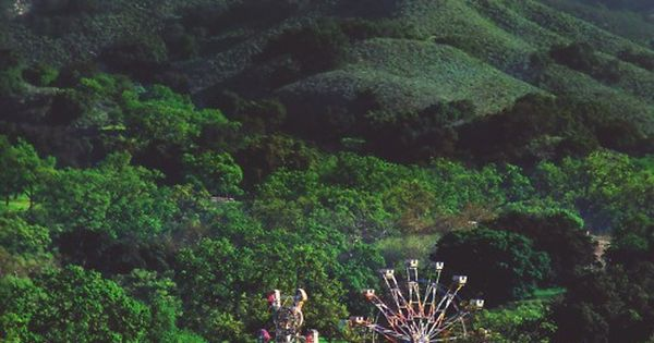 Forest Carnival, Romania. It's like Night Circus.