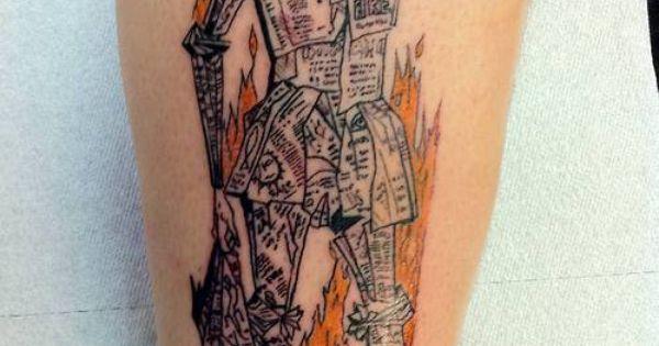 Fahrenheit 451 tattoo ink pinterest fahrenheit 451 for Fahrenheit 451 tattoo