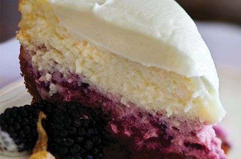 LemonBlackberry Cheesecake