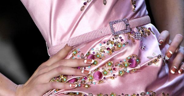 Christian Dior Haute Couture - Pink, Pleats and Jewels - the most