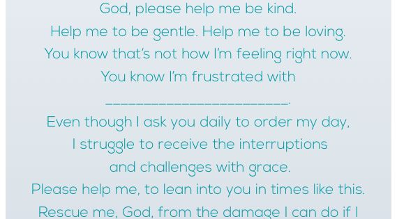 "A Yelling Mama's ""Rescue Me"" Prayer"