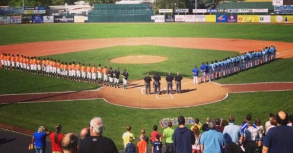 Tabor College Bluejays At Their First Ever Naia College Baseball World Series In Lewiston Id Adv Baseball World Series College Athletics Baseball Tournament
