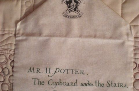 The 'Project of Doom' Harry Potter quilt reference