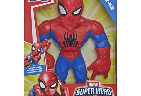 Marvel Super Hero Adventures Spider Niño Arachnid Marvel/'s Rhino Man Nuevo