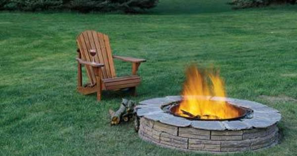 Cheap Landscaping Ideas For Back Yard | How to Build a Fire