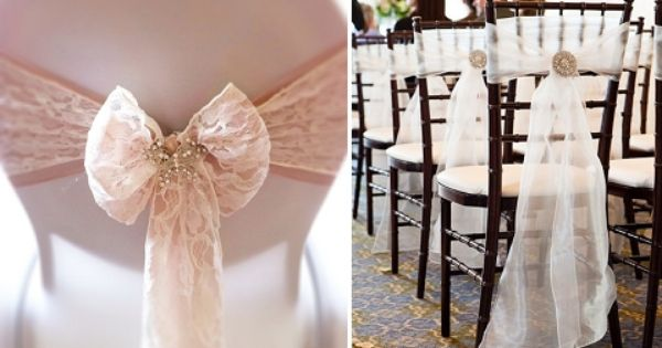 it's all in the details: six alternative chair decor ideas