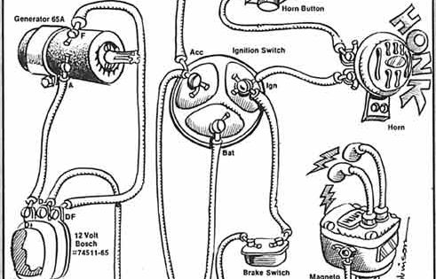 ironhead sportster wiring diagram images ironhead simplified wiring diagram for 1972 kick the sportster and