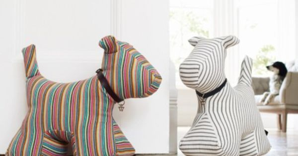 TOO CUTE! Dog doorstops karli