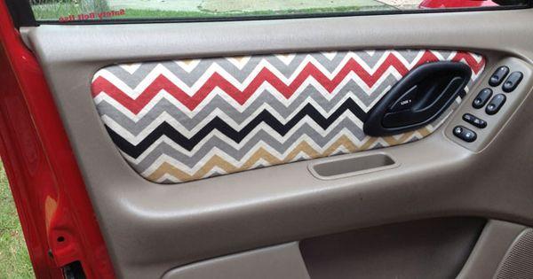 Diy Car Door Upholstery Are The Inside Of Your Car Doors