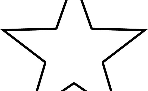 Star Outline Shape