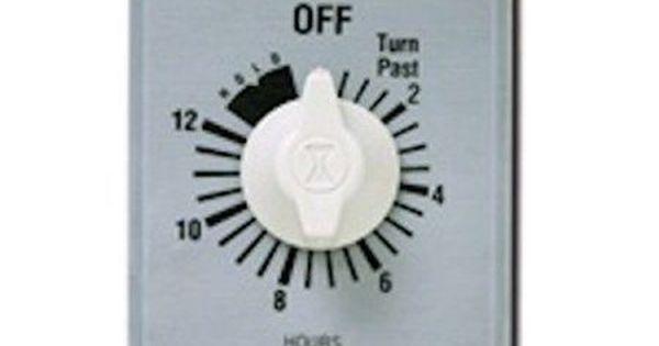Ivory Intermatic FD5M 5-Minute Spring-Loaded Automatic Shut-off In-Wall Timer for Fans and Lights