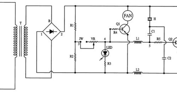 ultrasonic humidifier circuit diagram