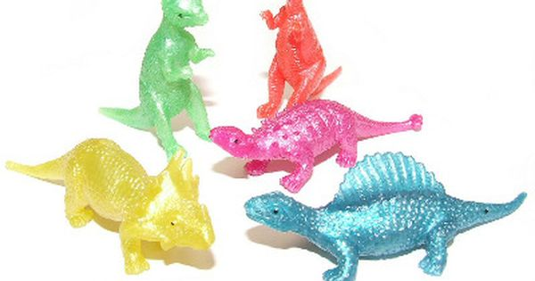 Jurassic Dinosaurs 6 Assorted Type New Boys Fun Toy Dino Collection Hard Rubber