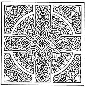 Free Printable Celtic Cross Patterns Celtic Coloring Mandala Coloring Pages Celtic Patterns