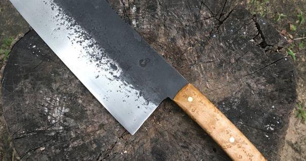 meat cleaver butcher knife knife hand forged knife cleaver chef knife butcher knife. Black Bedroom Furniture Sets. Home Design Ideas