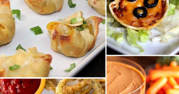 Healthy Appetizers - I have a serious girls night coming up!
