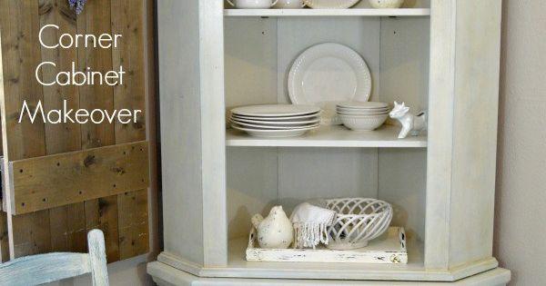 Farmhouse corner cabinet makeover bedrooms knotty pine cabinets and french - Knotty pine cabinets makeover ...