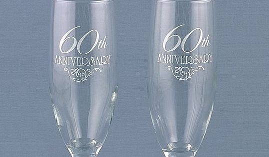 Diamond Wedding Gift Ideas: Personalized 60th Wedding Anniversary Party Decorations