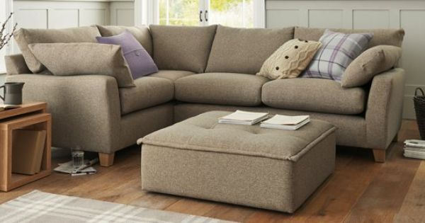 Buy Alexis Standard Corner Left Hand 4 Seats Soft Marl Dark Mink Light Next Home Living Room Small Sofa Home Comforts