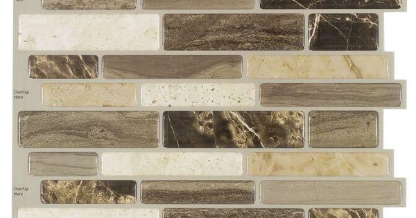 Elida Ceramica Verona Beige Composite Vinyl Mosaic Scale