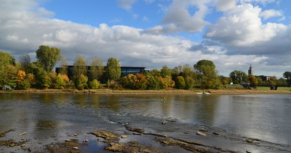 Elbe In Magdeburg Magdeburg Landscape Photo