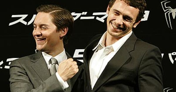 tobey maguire & james franco | BEST FRIENDS | Pinterest ...